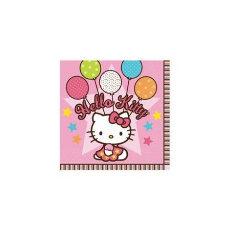 Hello Kitty Birthday Party Invitations - Hello Kitty Party Napkins (16-pack) - Party Supplies