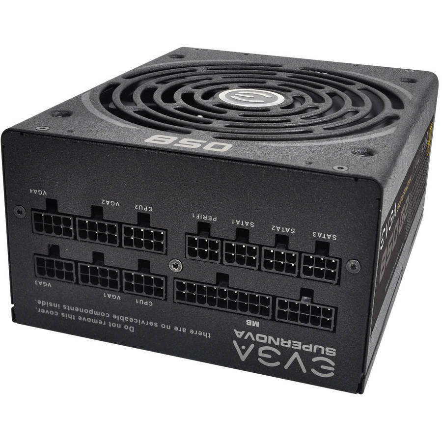 EVGA SuperNOVA 850 G2 80+ GOLD, 850W ECO Mode Fully Modular NVIDIA SLI and Crossfire Ready Power Supply by EVGA