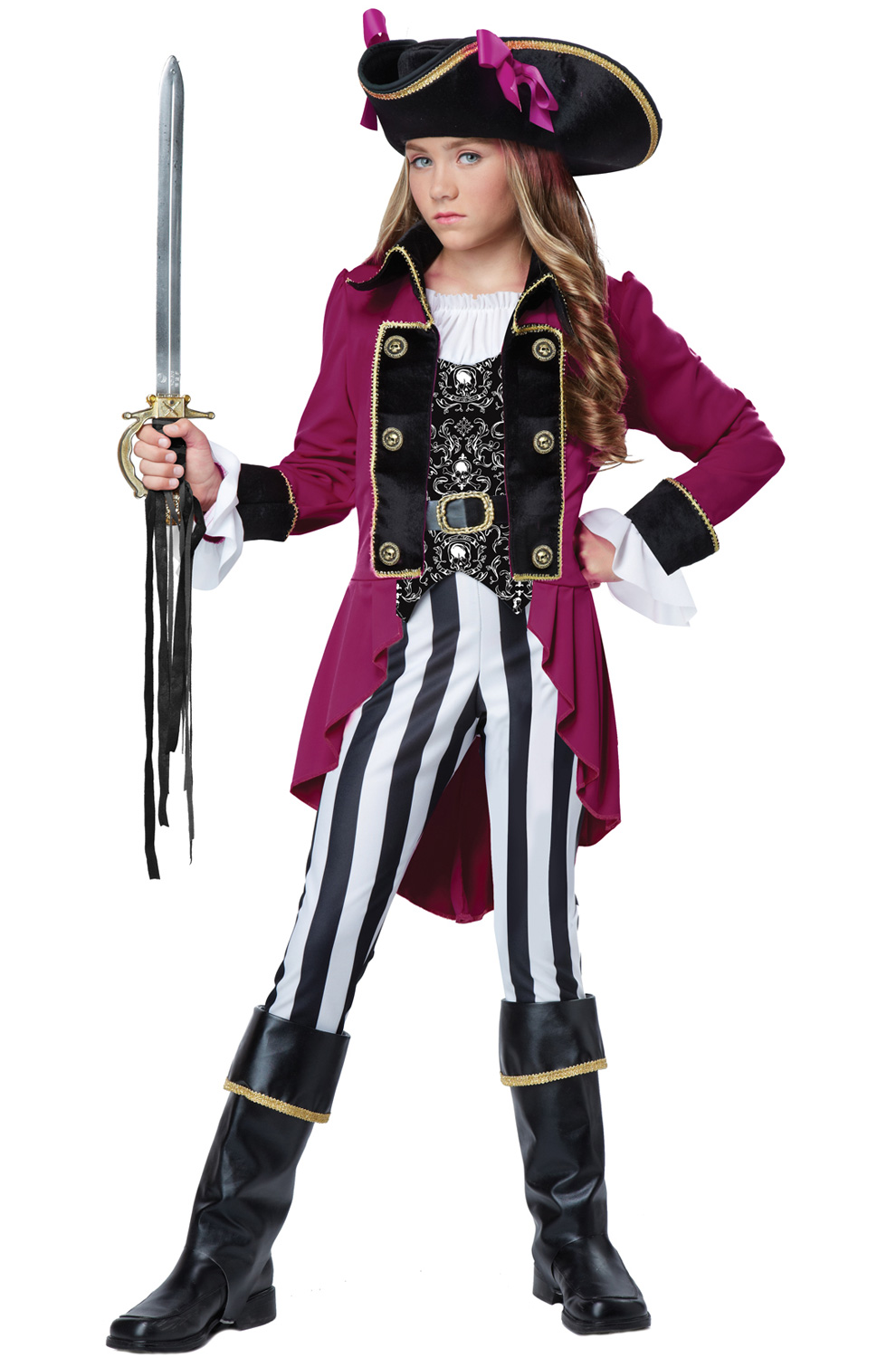Fashion Pirate Tween Costume by California Costumes