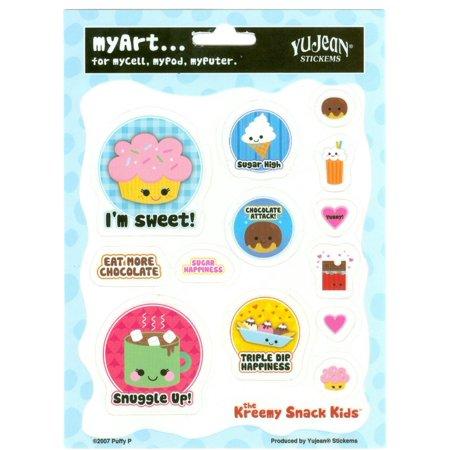 Puffy P - Kreemy Snack Kids Yummy Sweet - Multi Pack of 13 Stickers](Yummy Halloween Snacks)