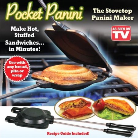 Pocket Panini Stovetop Sandwich Maker - AS SEEN ON