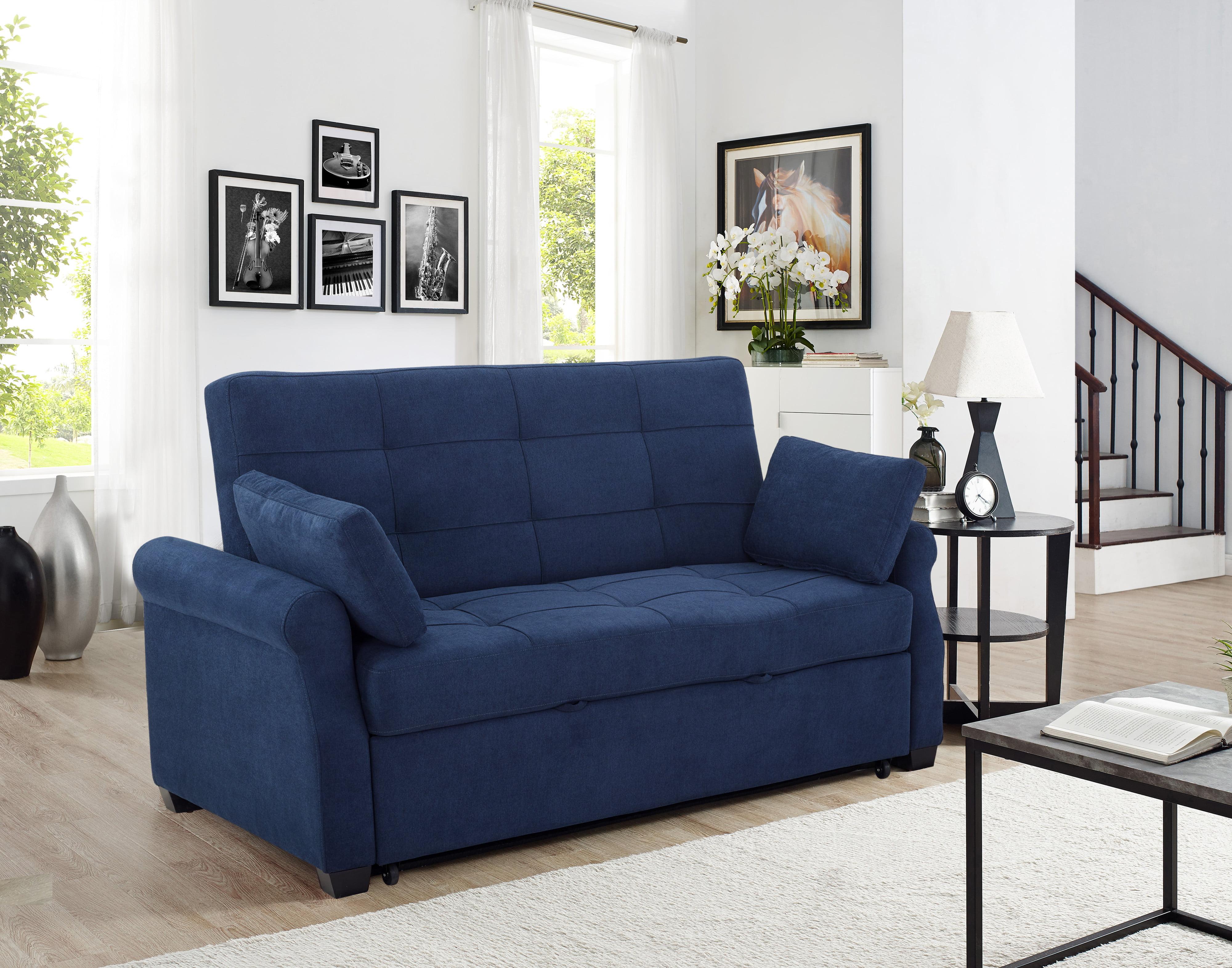 Picture of: Serta Haiden Queen Sofa Bed Gray Walmart Com Walmart Com