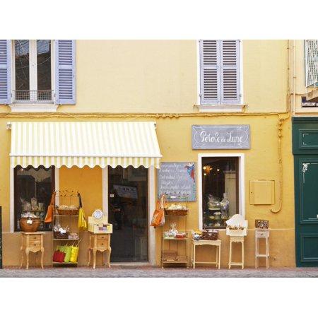 Market Street Flea Market, Sanary, Var, Cote d'Azur, France Print Wall Art By Per Karlsson