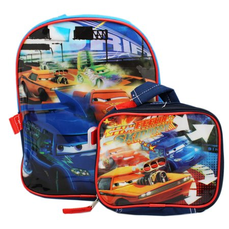Cars Mini Backpack (Pixar's Cars Mini Backpack and Attachable Utility Case (12in))