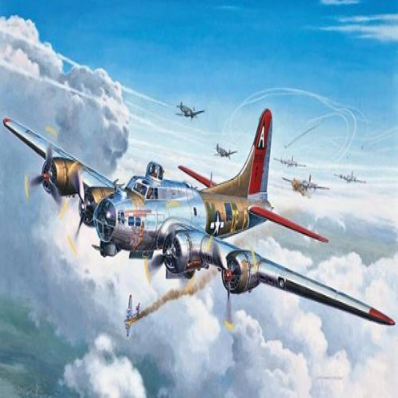 Revell 1:72 B-17G Flying Fortress by