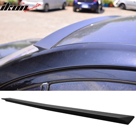 Fits 11-16 Scion tC VRS Style Roof Spoiler Wing Unpainted Black PU Flexible