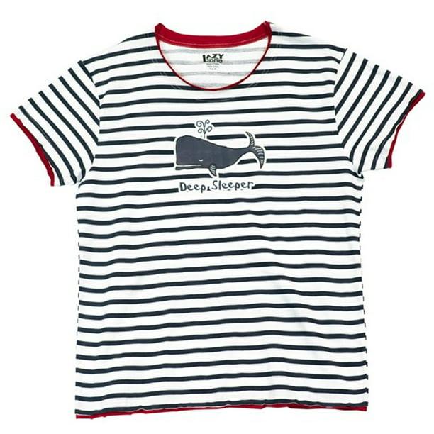 LazyOne Damen Deep Sleeper Pyjama T Shirt