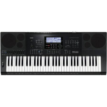 Casio CTK-7200 61-Key Personal Keyboard with Power Supply