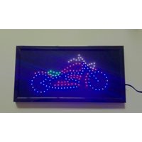 Electrical Motor Cycle LED Sign