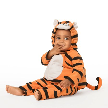 Carters Teeny Tiny Tiger Halloween Costume - Simple Tiger Makeup Halloween
