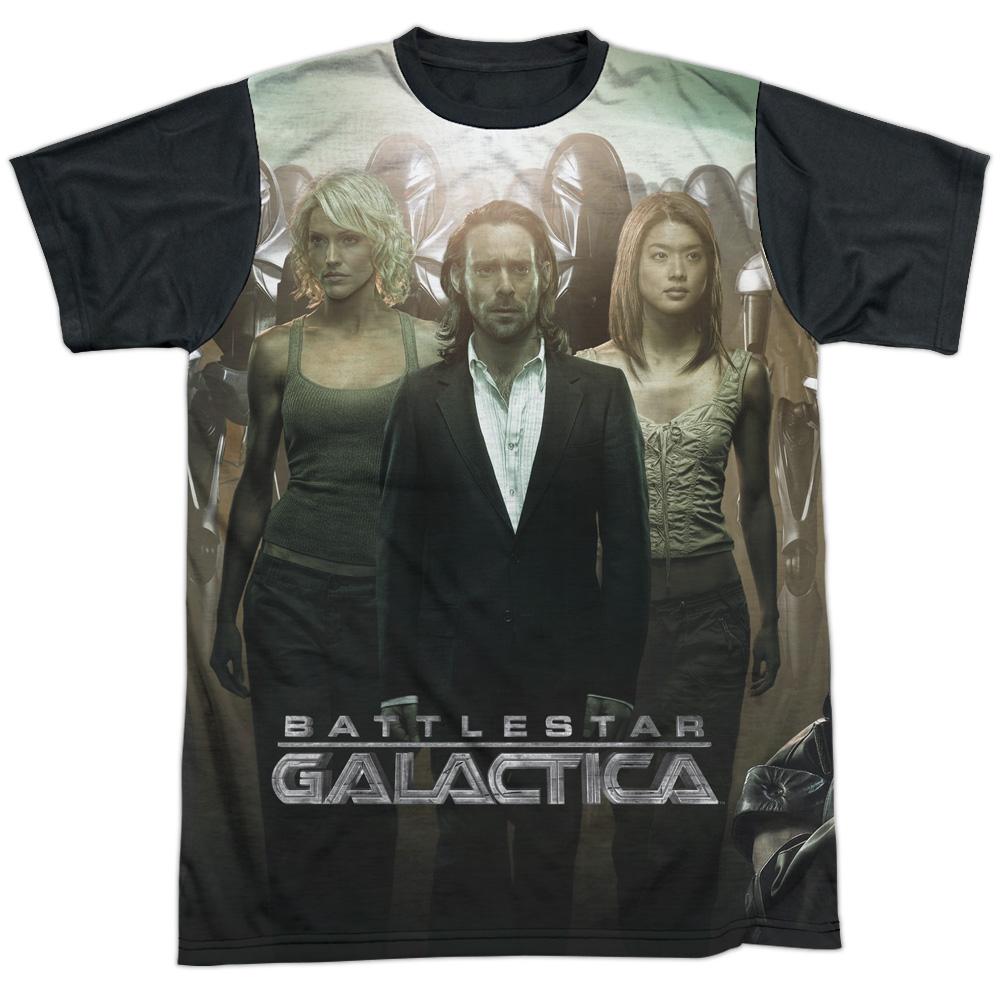 Battlestar Galactica Fallen Leader Mens Sublimation Shirt