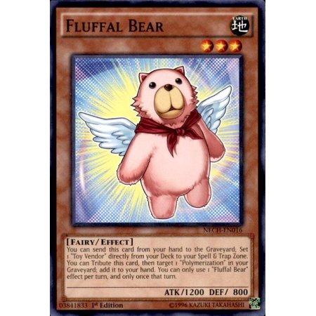 YuGiOh The New Challengers Fluffal Bear NECH-EN016