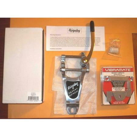 Es 335 Bigsby (Bigsby® B7 Chrome Vibrato Tailpiece & Vibramate V7-335 E Series~8.0~Brand New)