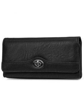 21af9e88ada Product Image MUNDI File Master Womens RFID Blocking Wallet Clutch  Organizer With Change Pocket
