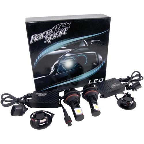 Race Sport 9004-LED-G1-KIT 5,000K TRUE LED Headlight Conversion Kit, 9004-3 HI/LO Base