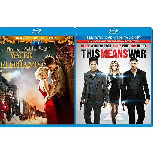 Water For Elephants / This Means War (Blu-ray) (Widescreen)