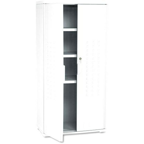 Iceberg Ice92553 Officeworks High Density Plastic Storage Cabinet 18 Length Walmart Com Walmart Com