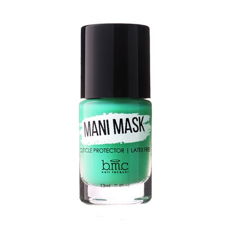 Maniology (formerly bmc) Mani Mask - Latex-Free Liquid Cuticle Protector for Nail Art -Paint On & Peel Off for Perfect Manicures and Pedicures with Quick, Easy Clean-Up for $<!---->