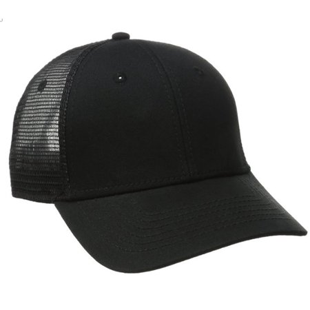 Dickies Core Black Meshback Cap Baseball Fitted Adult Accessory Black Hat](Blank Baseball Caps)