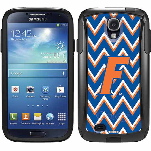 University of Florida Sketchy Chevron Design on OtterBox Commuter Series Case for Samsung Galaxy S4