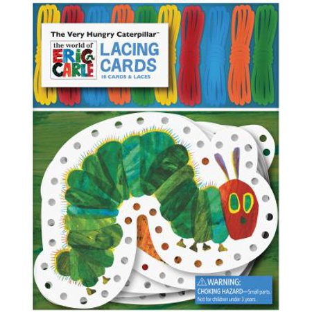 The World of Eric Carle(TM) The Very Hungry Caterpillar(TM) Lacing Cards - Hungry Little Caterpillar