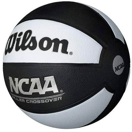 "Wilson NCAA Killer Crossover 29.5"" Basketball, Black by Wilson Sporting Goods"