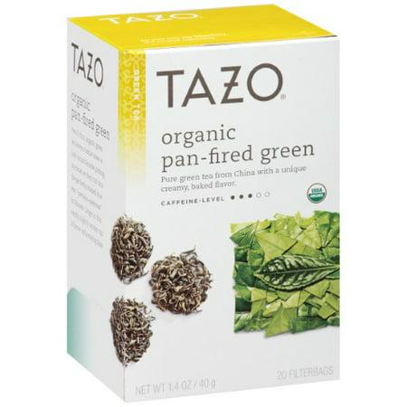 Tazo ® thé vert Pan-Fired biologique Sachets de thé 20 ct. Boîte