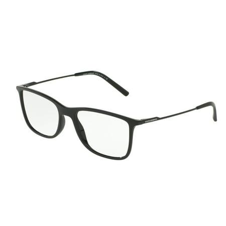 Dolce & Gabbana 0DG5024 Optical Rectangle Unisex Eyeglasses - Size 55 (Dolce And Gabbana Eyeglasses For Men)