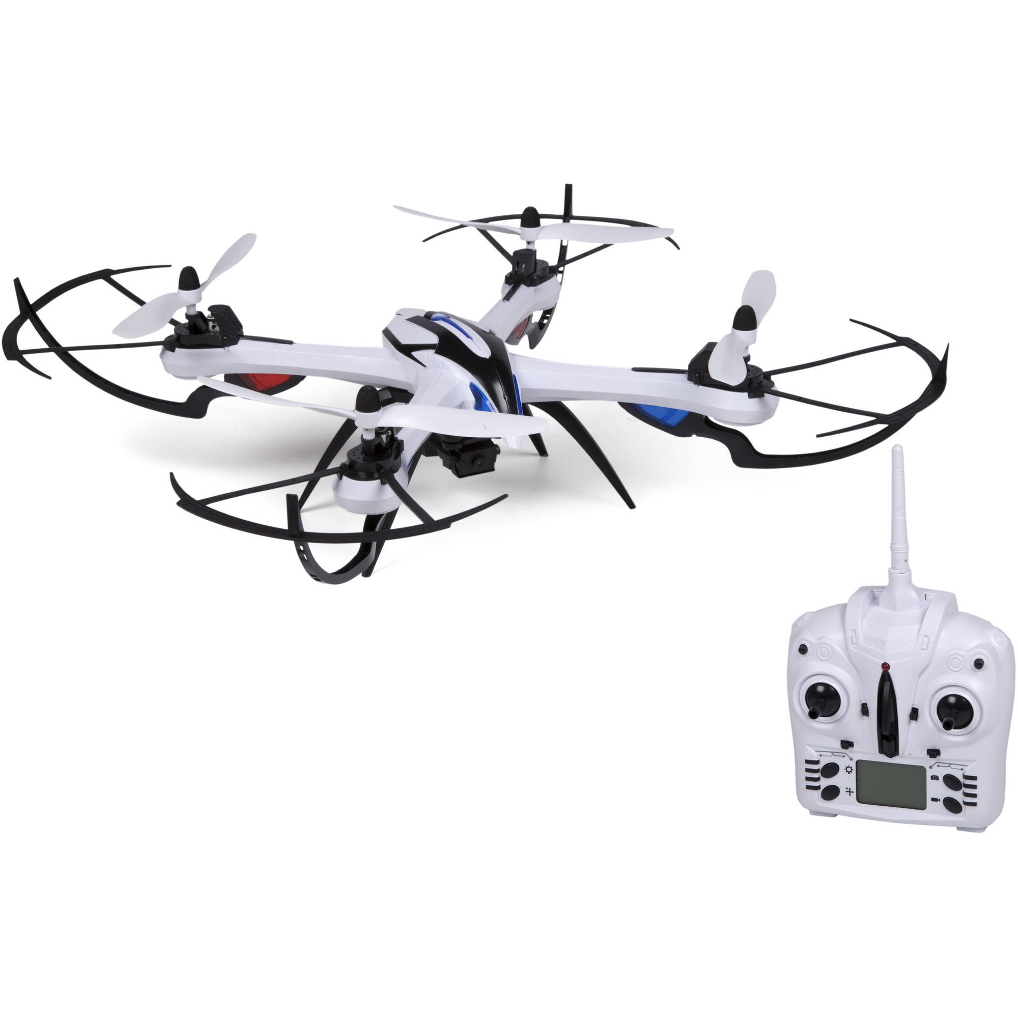 Prowler Spy Drone Video Camera and Photo 2.4GHz R C Quadcopter by World Tech Toys