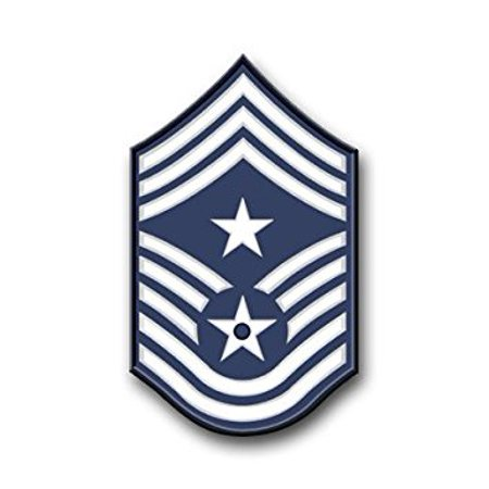 MAGNET US Air Force Command Chief Master Sergeant Decal Magnetic Sticker 5.5""