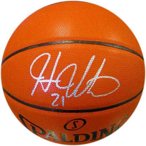 Hassan Whiteside Autographed Hybrid Indoor/Outdoor Basketball