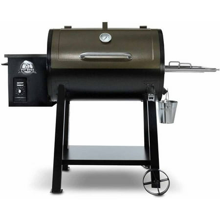 Pit Boss 440D Wood Fired Pellet Grill W  Flame Broiler