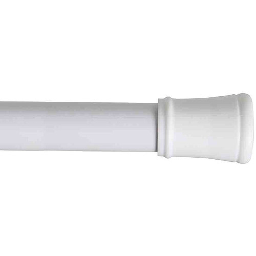 Mainstays Easy Hang Tension Rod, White