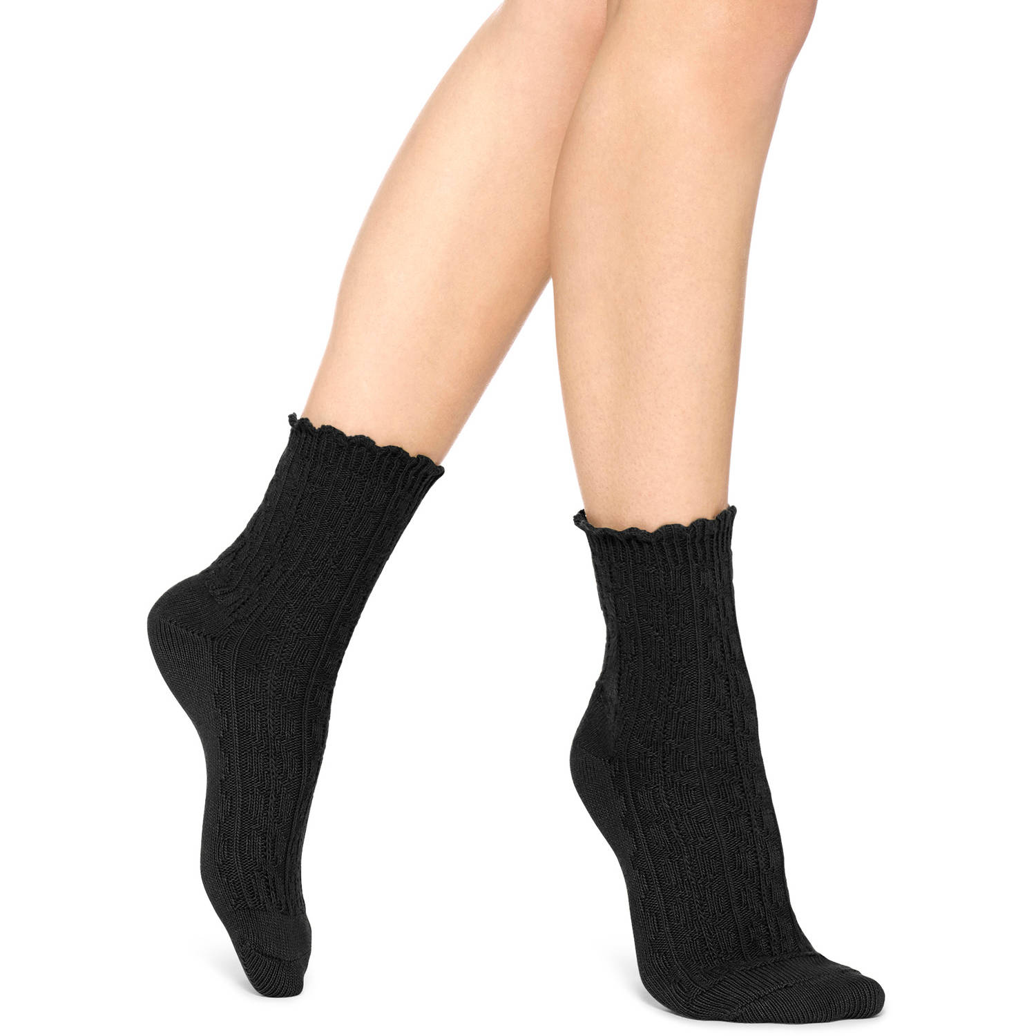 Women's Ruffle Mini Boot Sock Economical, stylish, and eye-catching shoes