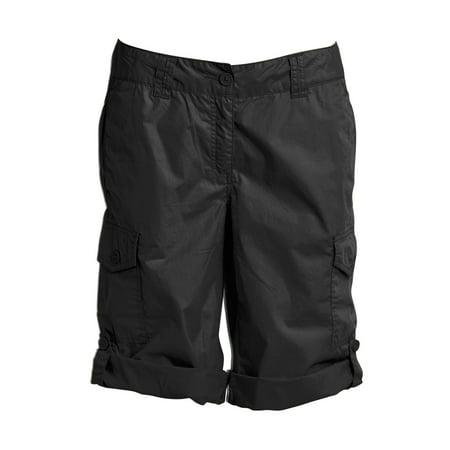 Ellos Plus Size Convertible Cargo Shorts