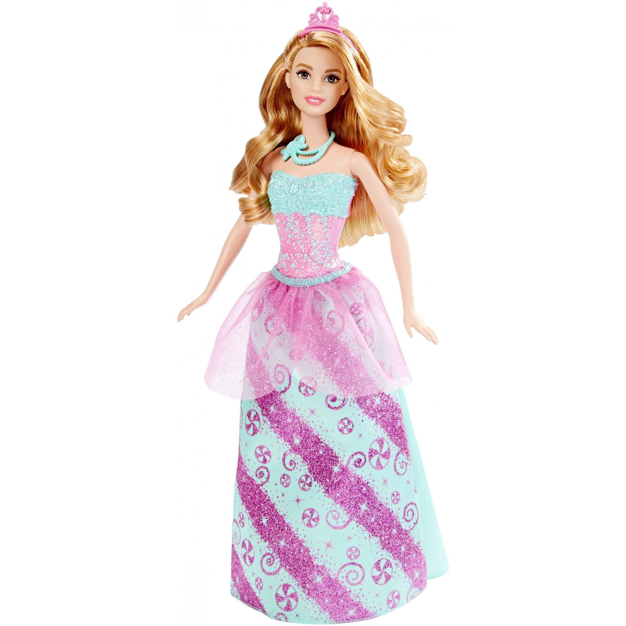 barbie fairytale candy princess doll walmart com