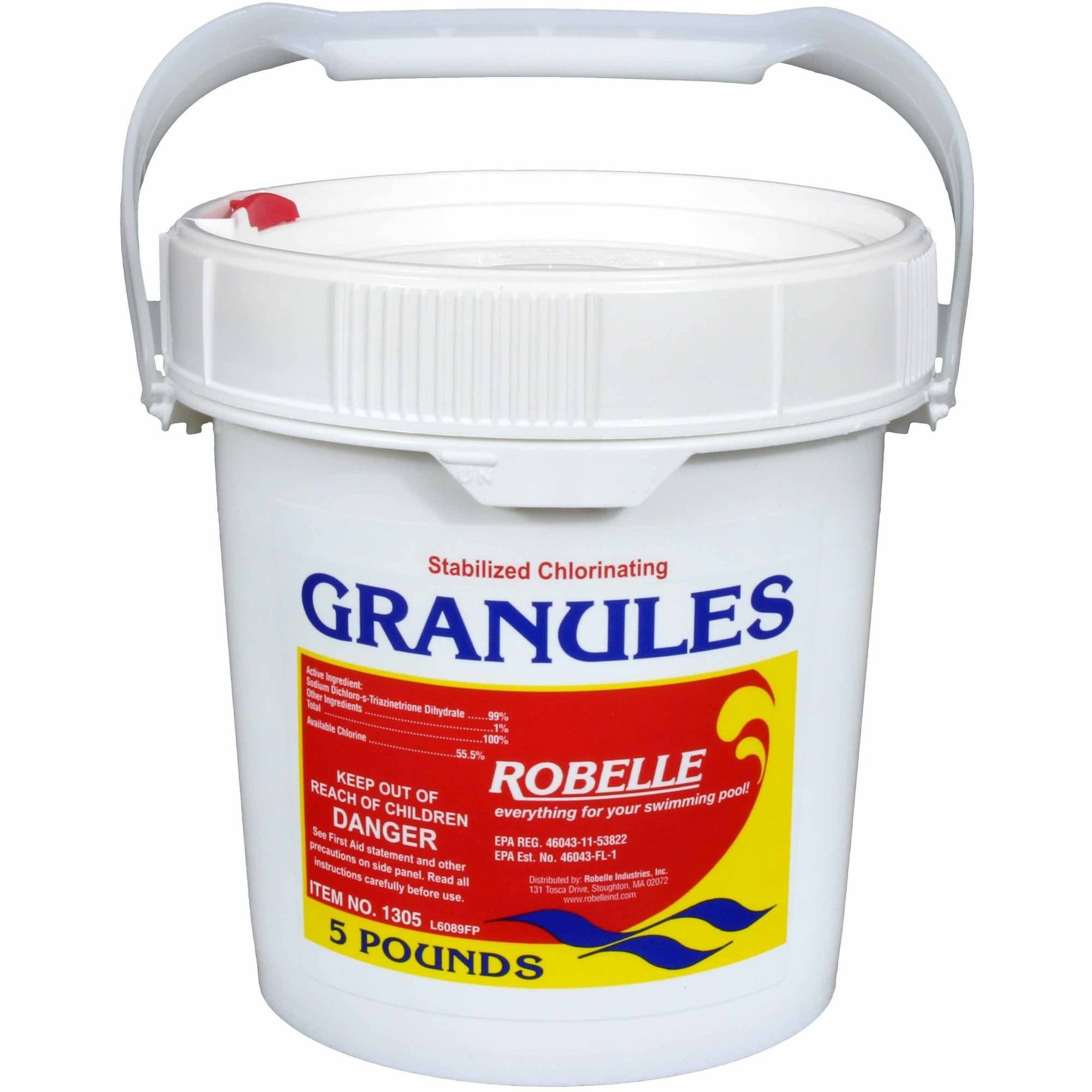 Robelle Stabilized Concentrated Chlorinating Powder Granules