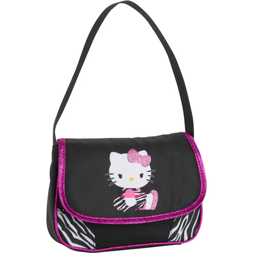 Hello Kitty  Flap Short Shoulder - Black