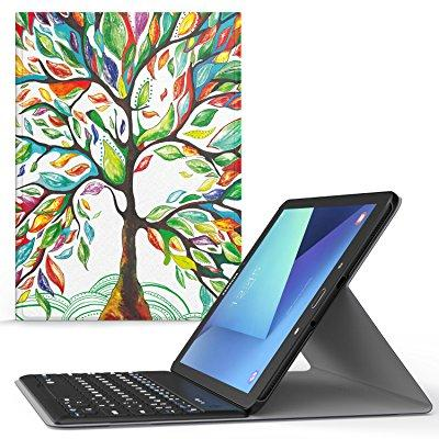 moko samsung galaxy tab s3 9.7 case - wireless bluetooth ...