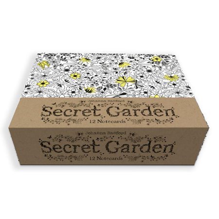 Secret Garden : 12 Notecards
