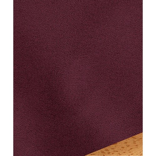 Easy Fit Ultra Suede Burgundy Wine Square Pillow