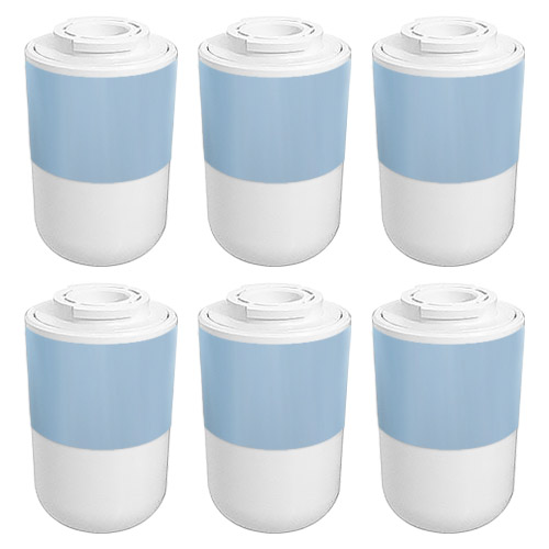 Replacement Filter for Kenmore 12527304 / WF292 / EFF-6021A (6-Pack) Refrigerator Water Filter