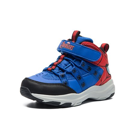 Boys Shoes Waterproof Toddler Strap Hiking Shoes Athletic Trail Running Tennis Shoes