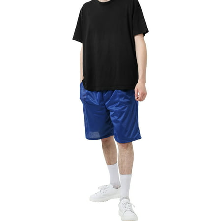 Direct Mesh Shorts (Men's Athletic Mesh Shorts With Pockets)