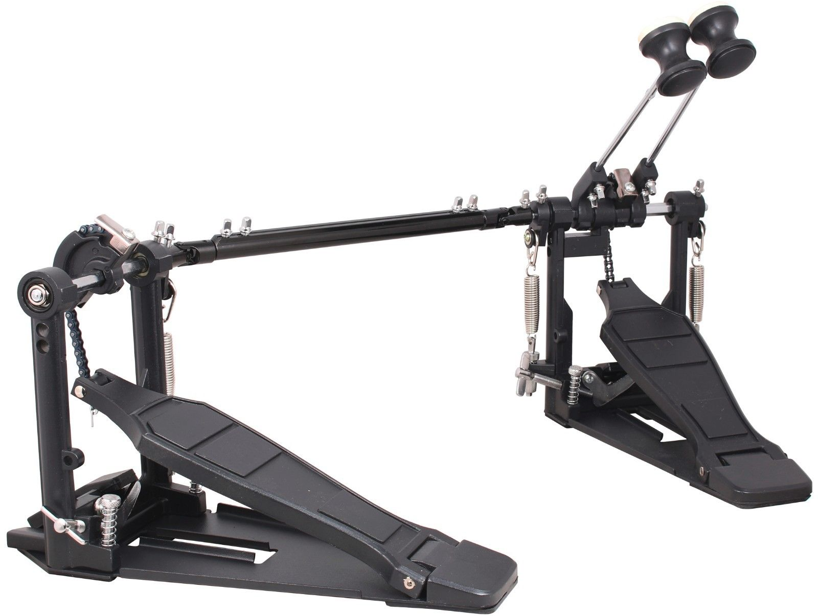 Double Bass Drum Pedal Dual Foot Kick Pedal Percussion Instrument Parts & Accessories With... by