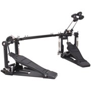 Double Bass Drum Pedal Dual Foot Kick Pedal Percussion Instrument Parts & Accessories With Single Chain Drive