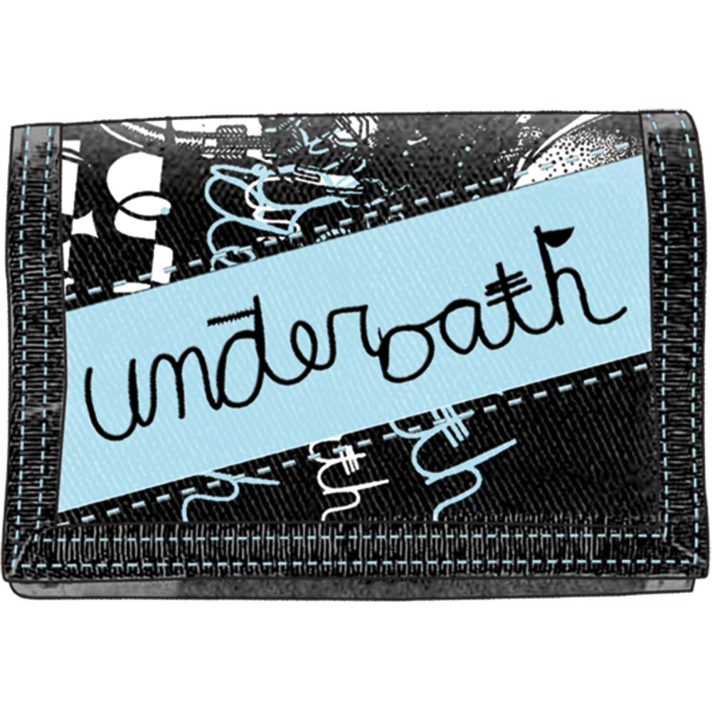 Underoath Men's Tri-Fold Wallet Black