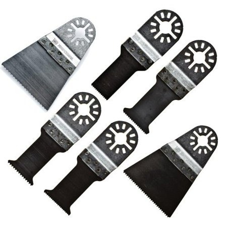 Imperial Blades 10MMV 10 Blade Variety-Pack Universal Oscillating Wood and Bi-Metal Blades