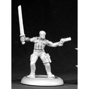 Reaper Miniatures Cobra, Modern Ninja #50082 Chronoscope RPG D&D Mini Figure