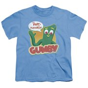 Gumby - Fun & Flexible - Youth Short Sleeve Shirt - X-Large